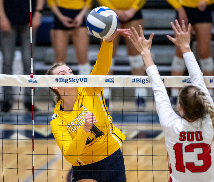 UNC vs. SUU Big Sky Volleyball Semifinal