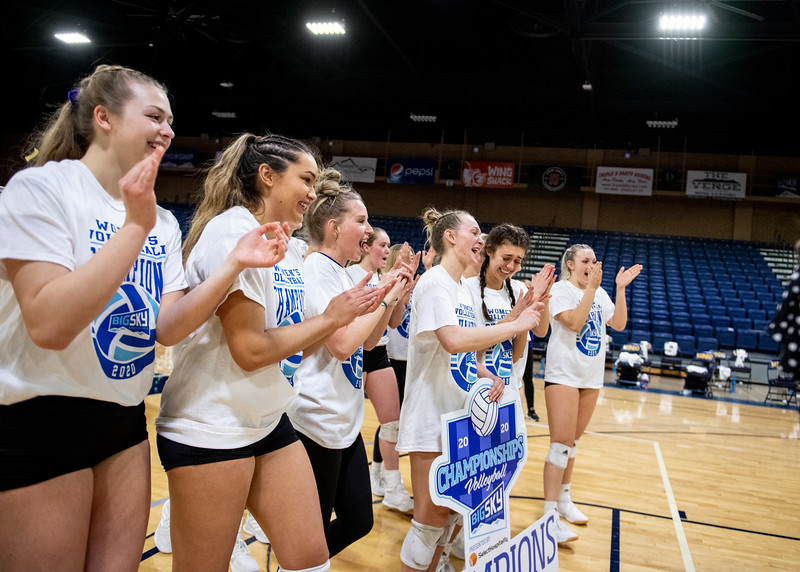 UNC vs. Weber State Big Sky Championship Volleyball