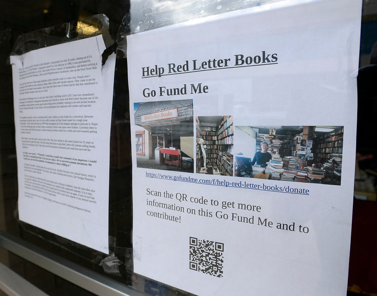 Red Letter Books Pushed Out