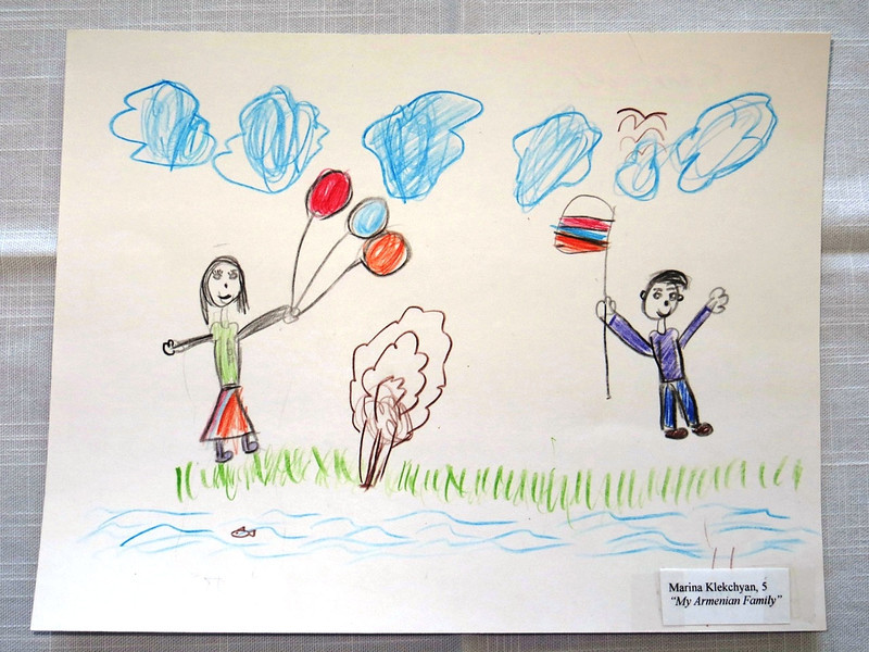 Genocide Drawing Contest: Marianna Klekchyan, 5
