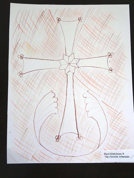 Genocide Drawing Contest: Davit Klekchyan, 8