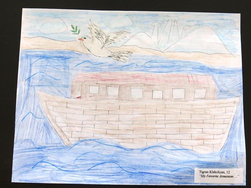 Genocide Drawing Contest: Tigran Klekchyan, 12