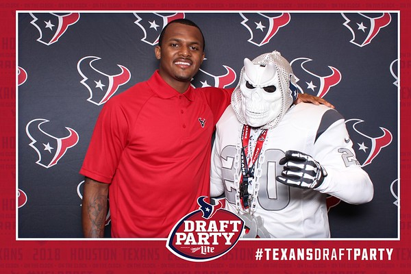Texans Draft Party - Strips