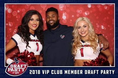 Texans VIP Club Member Draft Party - Strips