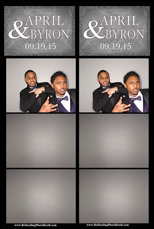 April & Byron Wedding 9.19.2015