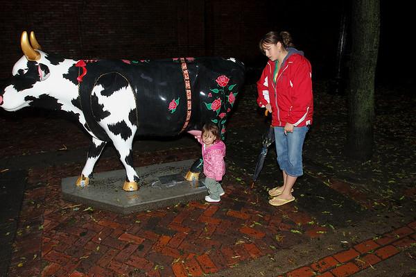 6/10/06 Boston walking around Little Italy