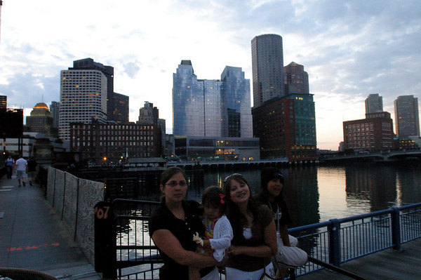 6/16/06 Boston outside the Children's Museum