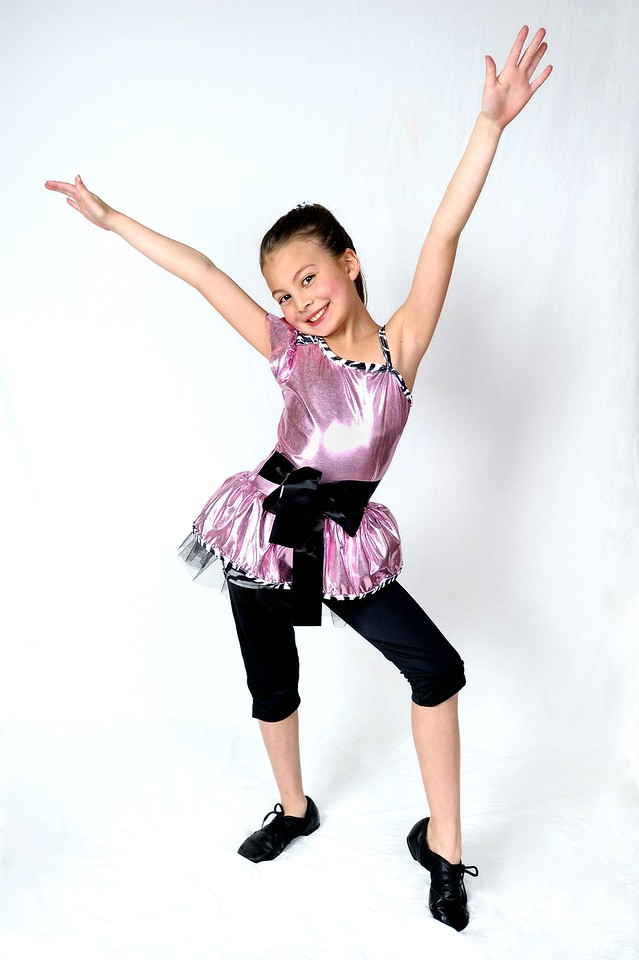 4/13/13 Madeline in her Dance Costumes