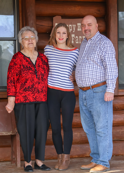 April Lloyd and family