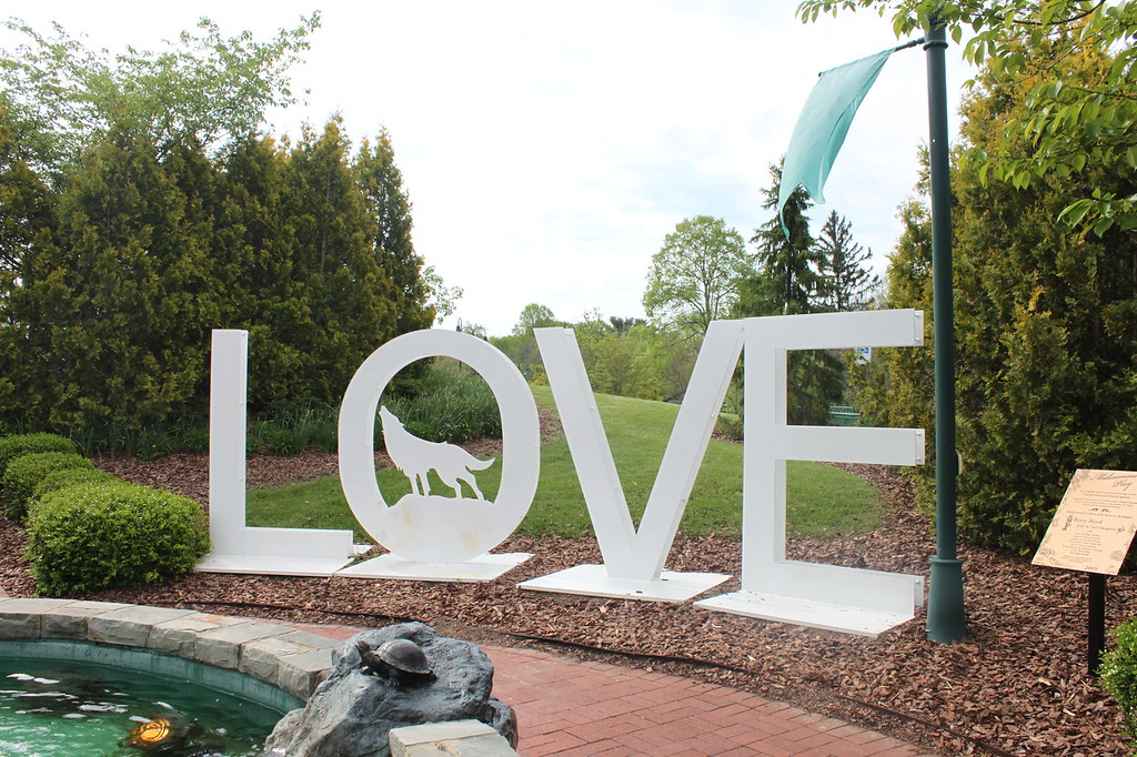 LOVE sign Southwest Virginia