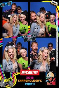 McCarthy 2013 Shareholder's Pary