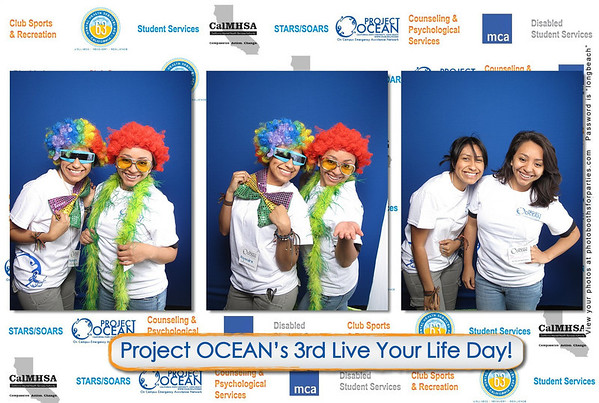 Project Ocean's Live Your Life Day