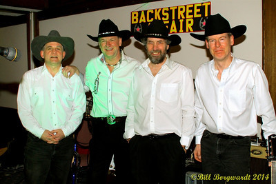 Gary Okrainek, Terry Kole, Greg MacEacheran, Richard Likely - Backstreet Affair - Sands Dance 114