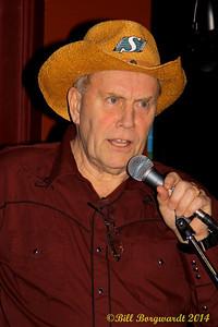 Steve Gosse - host - Jimmy Whiffen - Uptown Folk Club