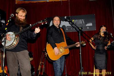 Sean Hillaby, Jimmy Whiffen, Michelle Beaudreau - Uptown Folk Club