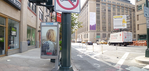 Ninth Ave near 33rd Street