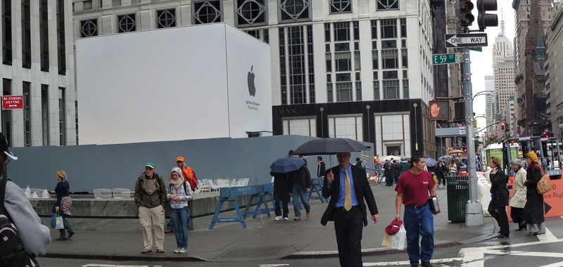 Apple under Construction