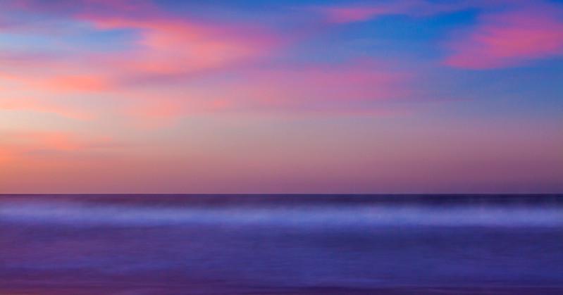 Sunrise at Seacliff Beach