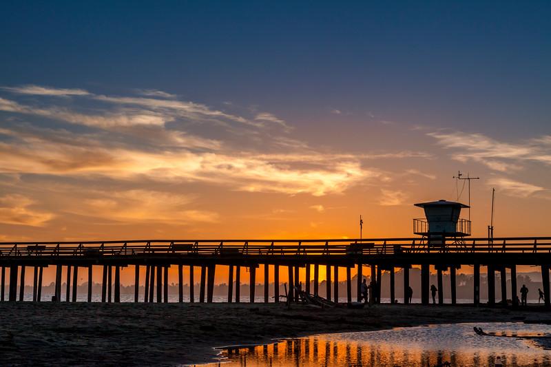 Seacliff Pier sunset