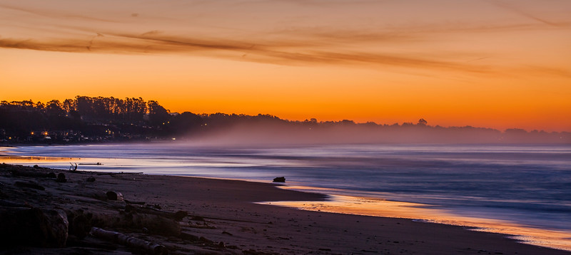Seacliff Beach sunrise