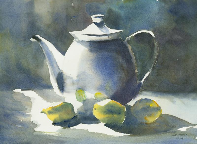 Tee mit Zitronen I