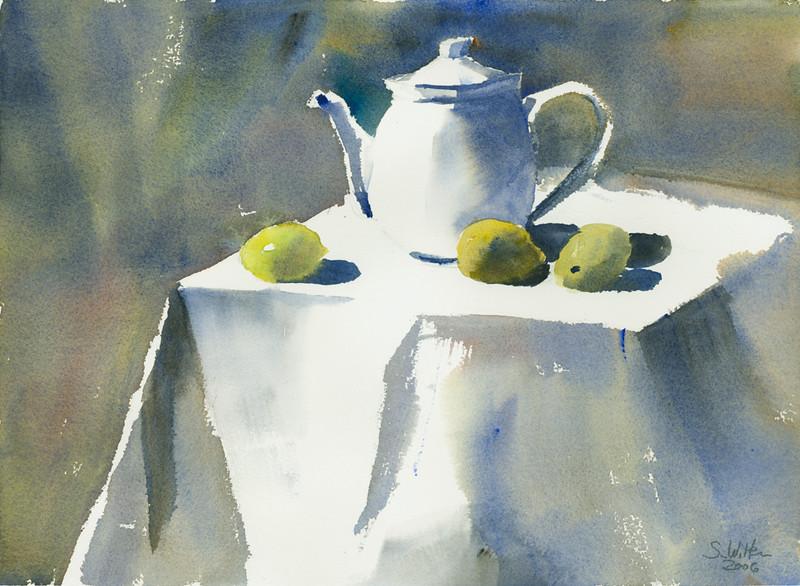 Tee mit Zitronen II