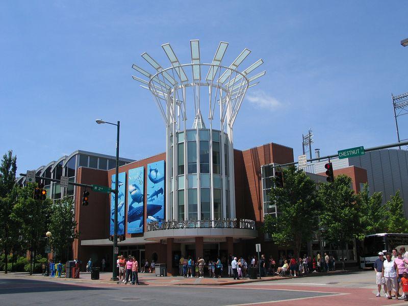 Chattanooga Tenneessee Aquarium<br /> IMax Theater