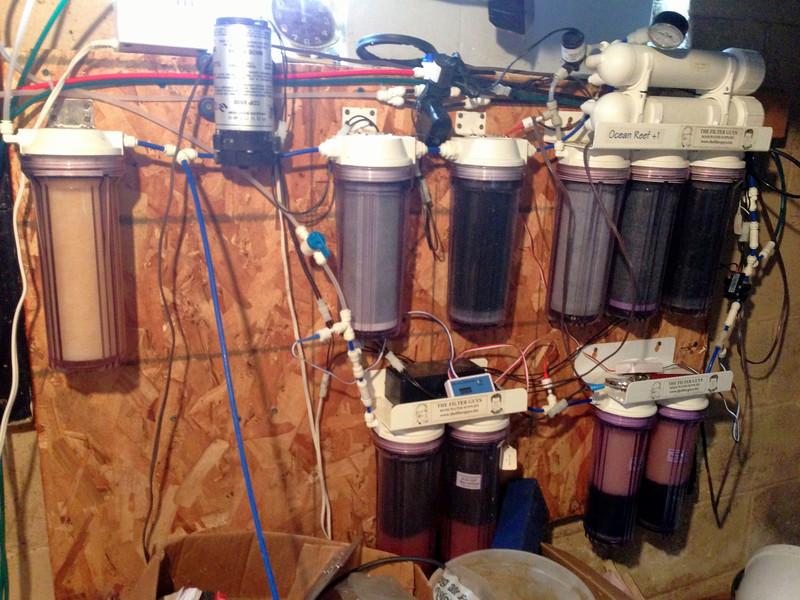 RODI filtration system