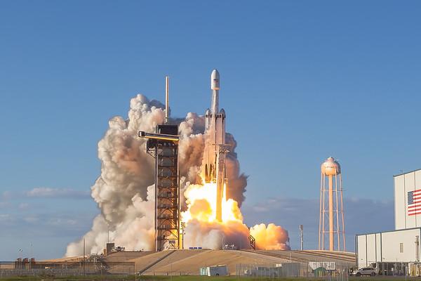 ArabSat6a Falcon Heavy by SpaceX