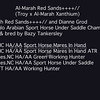 Al-Marah Red Sands Results
