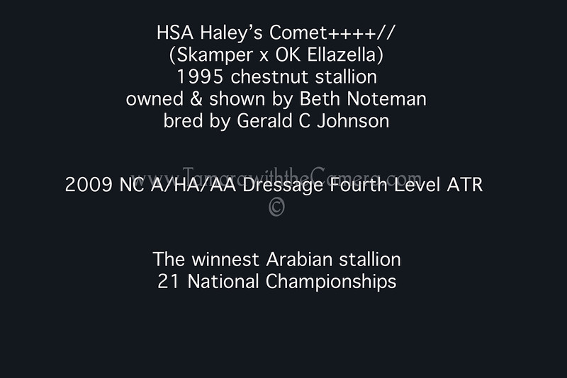 HSA Haley's Comet results