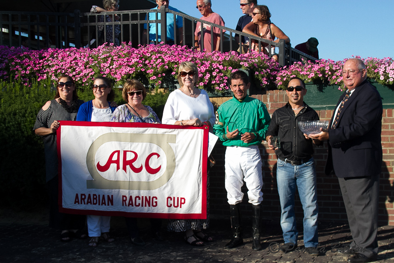 Award for Joe and Betty Gillis, breeders from ARC