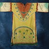 Arapaho muslin Ghost Dance dress, ca. 1890-1900.
