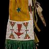 Arapaho Ghost Dance pipe bag, ca. 1900.