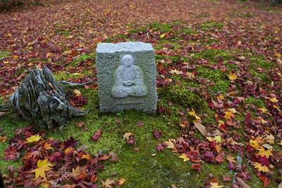 Jizo Stone Statue at Adashino Nenbutsu-ji