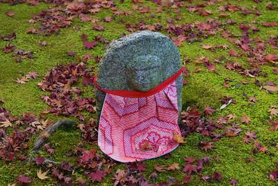 Jizo Stone Statue at Adashino Nenbutsu-ji Temple in Arashiyama/Kyoto