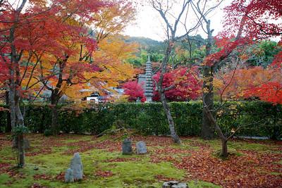 Garden at Adashino Nenbutsu-ji