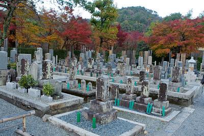 Cemetery at Adashino Nenbutsu-ji Temple in Arashiyama/Kyoto