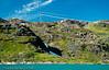 Kraftmaster ved Brynvatn i Tysfjord kommune. Kraftanlegg/dam for Sørfjord kraftstasjon.