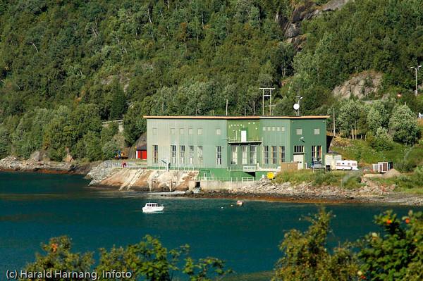 Nygård kraftstasjon, Narvik Energi AS.