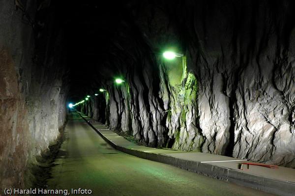 Narvik Energi, Nordkraft AS, tunnellinngang til Sildvik kraftstasjon