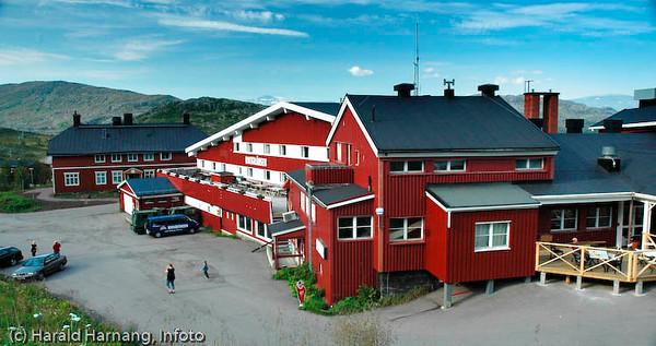 Riksgrensen, Lapplandia. På svensk side.