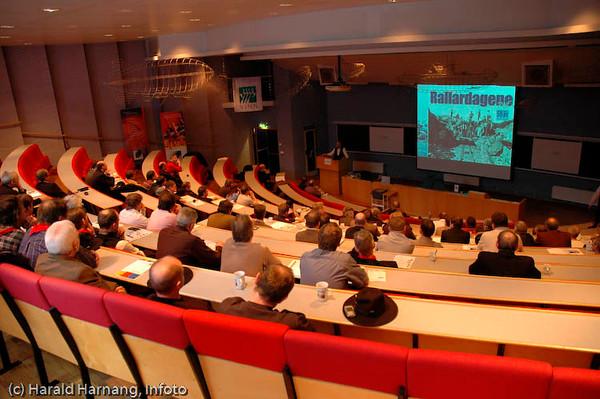 Rallardagene arrangert av VINN i Narvik, åpningskonferanse på Høgskolen i Narvik