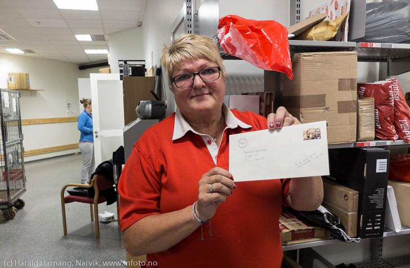 Siste dag eget postkontor i Narvik