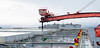 Oktober 2012: Kai 5, lasting av malmskip, Eibhlin, Panamaregistrert, lengde x bredde:292 x 45 m. Denne båten er med andre ord like bred som en fotballbane og tre ganger så lang.
