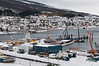 PEAB bygger malmutsikpningskai for Northland Resources. Ferdig til påske 2013. Foto: 18. februar 2012. Northland Resources shipping facilities in Narvik under construction.