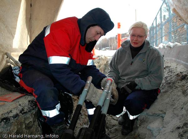 Narvik Energi Nett, kabelskøyting.