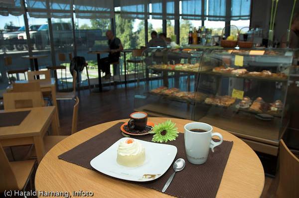 Bakeri, Ballangen, Myklevold. Utsalgssted Baguetten, Narvik storsenter