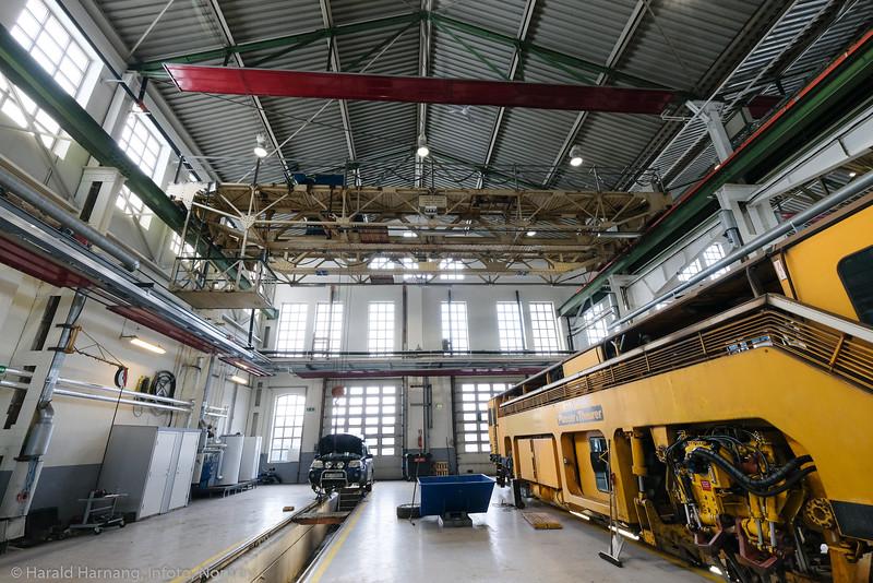 Bane Nor - Narvik, lokstall og verksted.