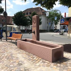 Brunnen Tiefburg Vorplatz Handschuhsheim
